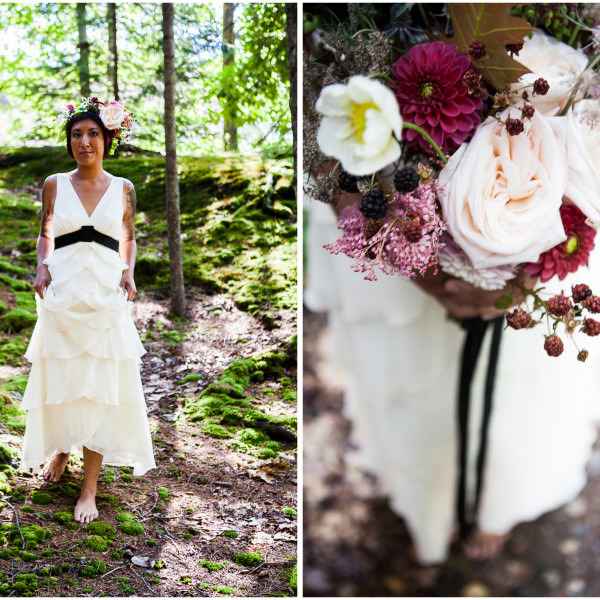 Local Maine / Woodland Wedding Inspiration