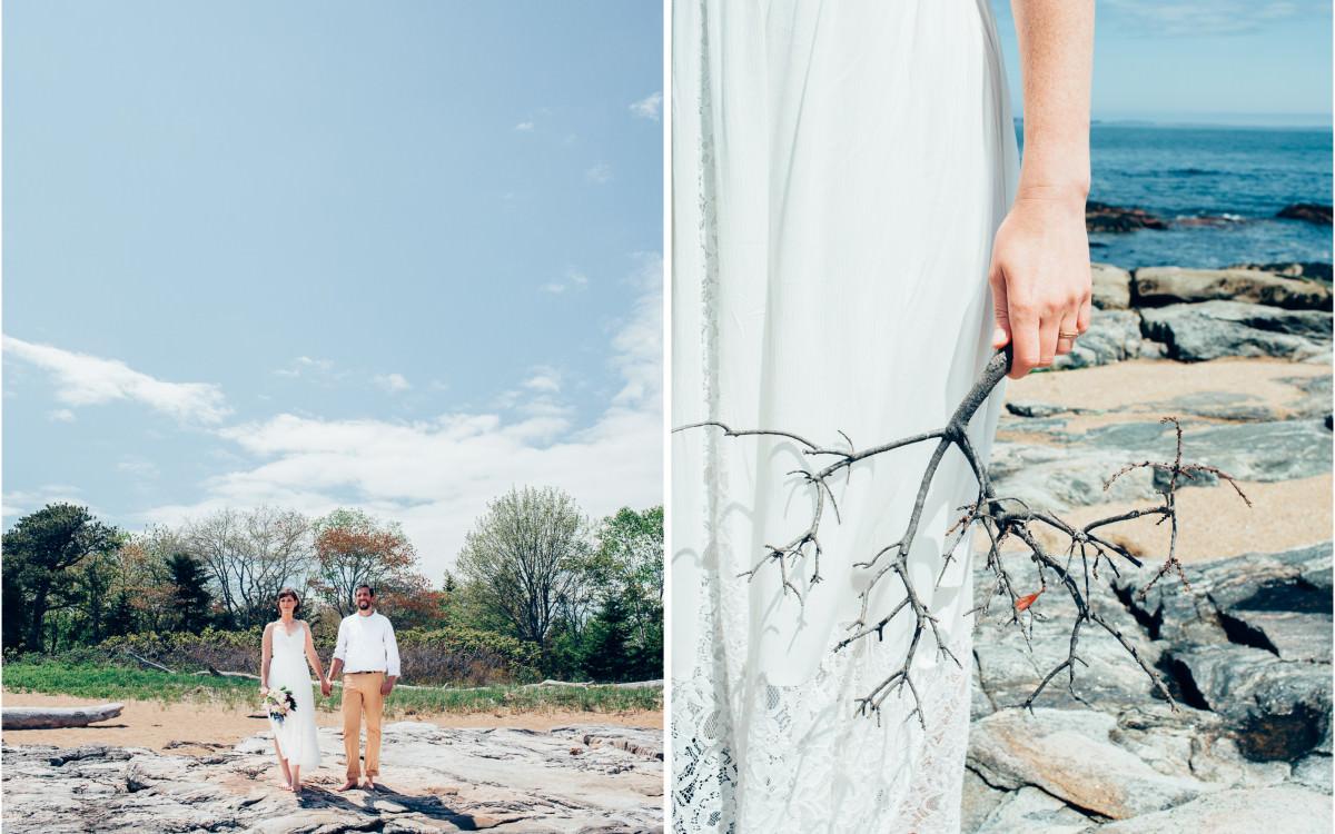 Josie + Matt / Reid State Park + Harpswell