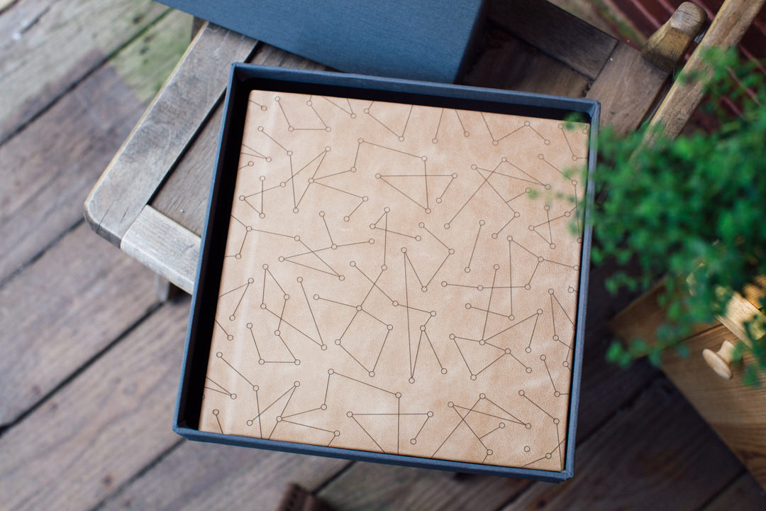 Etched Leather Albums Are Here!