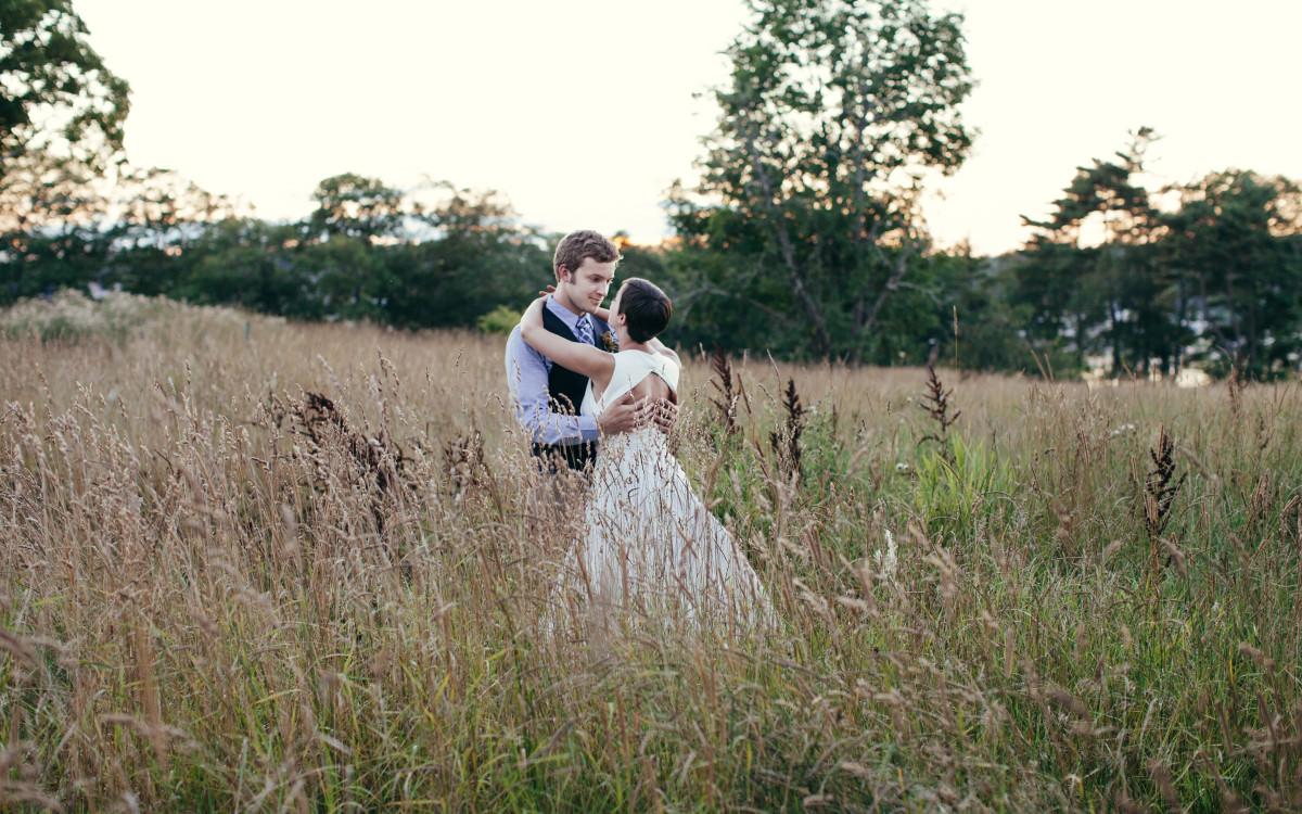 Austin & Veronica at Wolfe's Neck Farm