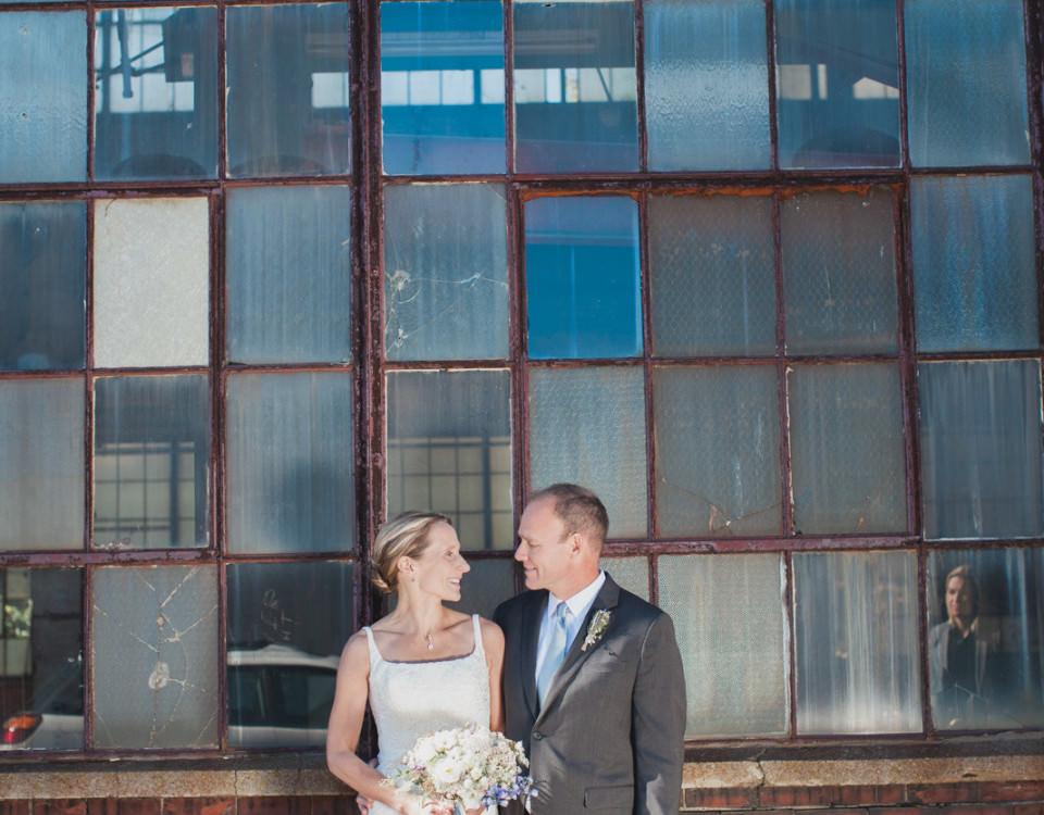 Gretchen and TJ's Portland Company Wedding