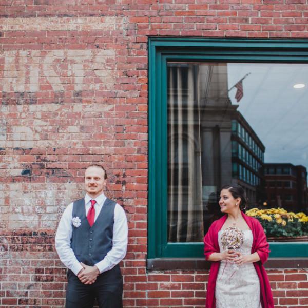 Ashley & Bill's wedding in Portland at Mariner's Church