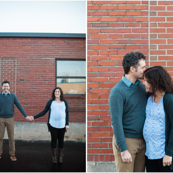 Maya & Sean's East End Maternity Session
