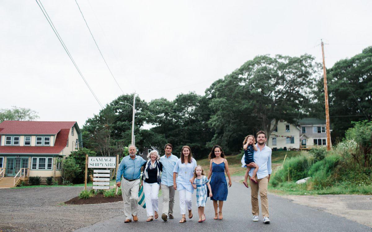 Sullivan Family in South Bristol