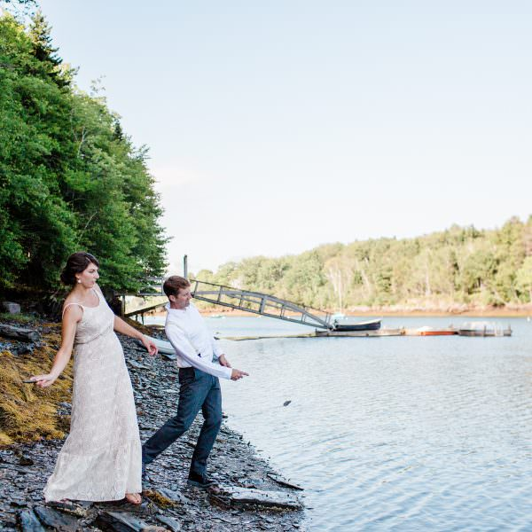 Harpswell, Maine Wedding Photography: Joe + Catherine