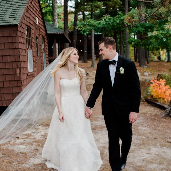 Classic New England Fall Wedding with European Countryside Influence