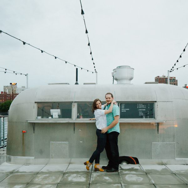 Engagement Photos at Spring Point + Bowling