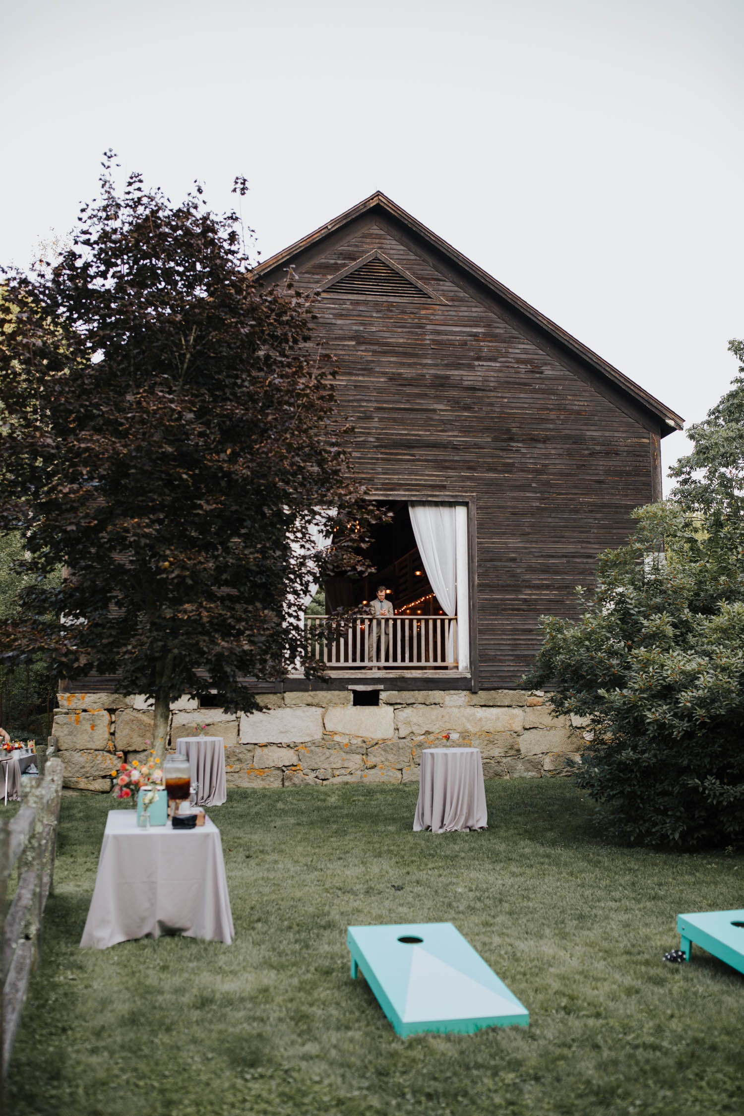Josias River Farm Wedding Photos Cape Neddick Maine Morgan Nick