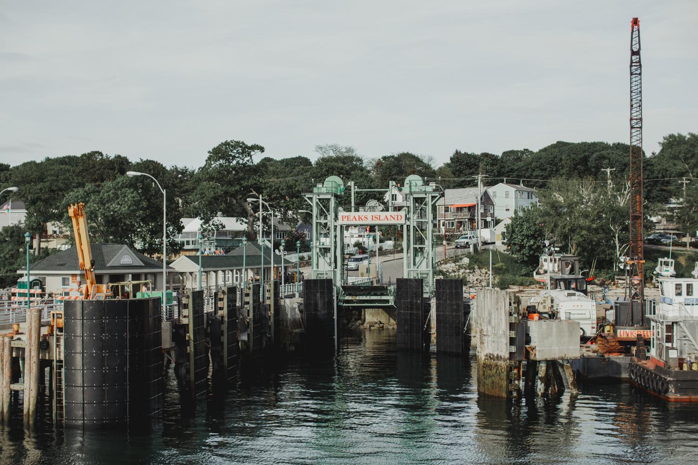 Peaks Island Ferry Dock, Maine