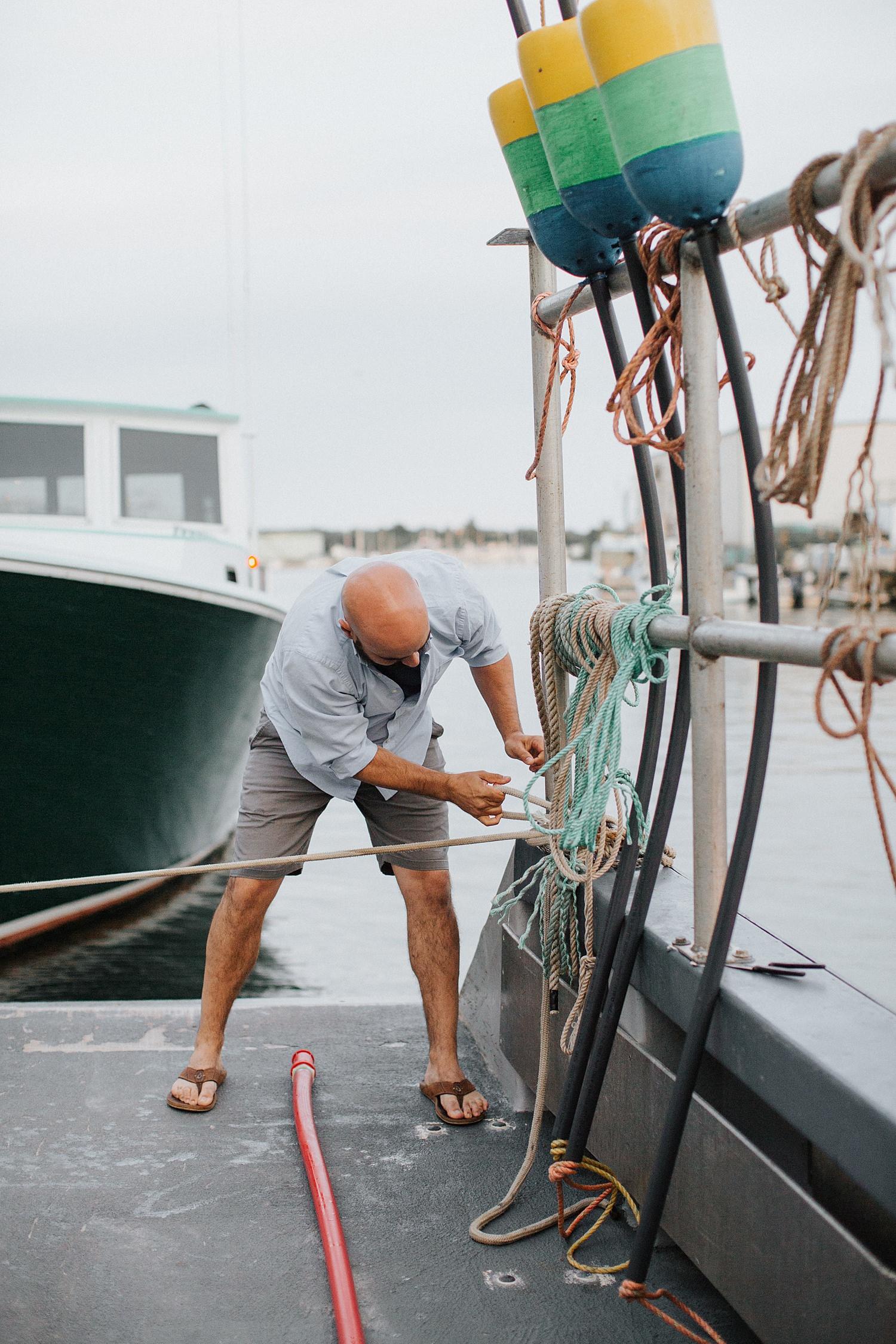 boat,couple,cruise,engagement,harbor,maine,martha's vineyard,new england,newport,portland,portrait,ropes,summer,sunset,